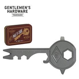 ジェントルマンハードウェア キーマルチツール Gentlemen's Hardware Key Multi Tool GEN254 鍵 カギ キャンプ アウトドア フェス【正規品】