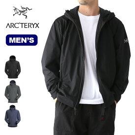 アークテリクス ソラノフーディ メンズ ARCTERYX Solano Hoody Men's メンズ トップス ジャケット ソフトシェル アウター 【正規品】