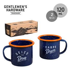 ジェントルマンハードウェア エナメルエスプレッソセット Enamel Espresso Set GEN323 マグ マグカップ キャンプ アウトドア フェス【正規品】