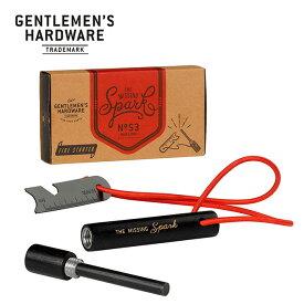 ジェントルマンハードウェア ファイヤースターター Gentlemen's Hardware Fire Starter GEN053 火打石 発火具 着火 キャンプ アウトドア フェス【正規品】