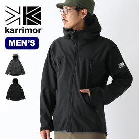 カリマー アリートフーディー karrimor arete hoodie メンズ 101097 アウター ジャケット ソフトシェル フーディー 【正規品】