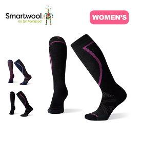 Smartwool Women's PhD® Ski Mediumスマートウール 【ウィメンズ】PhDスキーミディアム ソックス SW73506 靴下 ロングソックス レディース 【正規品】