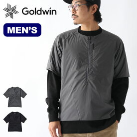 ゴールドウィン インサレーテッドハーフスリーブ GOLDWIN Insulated Half Sleeves メンズ GM20328P 中わたジャケット プリマロフト インサレーション アウター 防寒 【正規品】