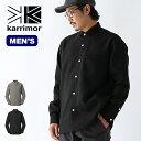 カリマー ネルソンL/Sシャツ karrimor nelson L/S shirts メンズ 101119 シャツ ロングシャツ 襟シャツ 長袖 ロングス…