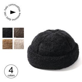 ハロコモディティー クナフリースキャップ halo commodity Kuna Fleece Cap h203-207 帽子 キャップ アウトドア ボアキャップ 【正規品】