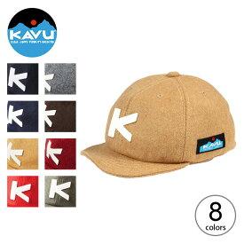 カブー ベースボールキャップ[ウール] KAVU Base Ball Cap Wool 19820318 帽子 キャップ デイユース タウンユース フリーサイズ 野球帽 アウトドア 【正規品】