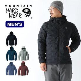 マウンテンハードウェア スーパーDSストレッチダウンフーデッドジャケット Mountain Hardwear Super/DS Stretchdown Hooded Jacket メンズ OM7674 アウター コート トップス ジャケット アウトドア ダウンジャケット 【正規品】