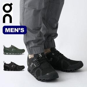 オン クラウド ウォータープルーフ メンズOn Cloud Waterproof スニーカー 靴 メンズ アウトドア トレラン ランニング キャンプ【正規品】