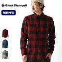 ブラックダイヤモンド ゾディアックL/Sフランネルシャツ ZODIAC L/S FLANNEL SHIRTS メンズ BD67127 シャツ チェック…
