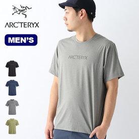 アークテリクス レミージワードSS ARCTERYX REMIGE WORD SS メンズ Tシャツ ロゴT プリントT 半袖 ショートスリーブ アウトドア 【正規品】