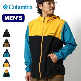 コロンビア ボーズマンロックジャケット Columbia Bozeman Rock Jacket メンズ PM3799 ジャケット マウンテンパーカー マウンテンジャケット ライトシェル アウター キャンプ アウトドア【正規品】