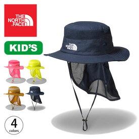 ノースフェイス 【キッズ】サンシールドハット THE NORTH FACE Kids' Sunshield Hat NNJ02007 ハット 帽子 サンシールド 子供 キャンプ アウトドア フェス【正規品】