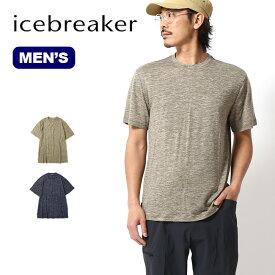 アイスブレーカー メンズ ダウラスSSクルー Icebreaker MEN'S DOWLAS SS CREWE IT22104 半袖 Tシャツ キャンプ アウトドア【正規品】