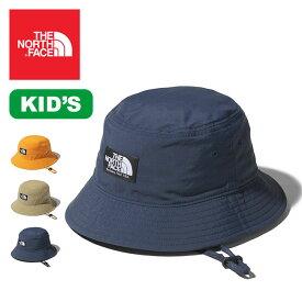 ノースフェイス 【キッズ】キャンプサイドハット THE NORTH FACE Camp Side Hat NNJ02004 ハット 帽子 子供 アウトドア【正規品】