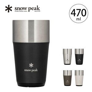 スノーピーク サーモタンブラー470 snow peak Thermo Tumbler470 TW-470 タンブラー コップ カップ 保温保冷 真空断熱 キャンプ アウトドア【正規品】