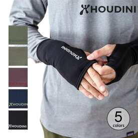 フーディニ パワーリストゲイター HOUDINI Power Wrist Gaiters メンズ レディース 328154 ハンドウォーマー 手袋 キャンプ アウトドア【正規品】