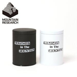 マウンテンリサーチ キャニスター Mountain Research 3312 小物入れ 缶 筒 密封缶 コーヒー豆 保存瓶 保存缶 キャンプ アウトドア 【正規品】