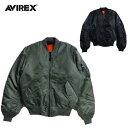 AVIREX MA-1 COMMERCIAL エムエーワンフライトジャケット6102170 AVIREXアビレックス