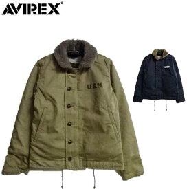 セールAVIREXアヴィレックス N-1プレーンデッキジャケットN-1 PLAIN JACKET☆6182174(アビレックス)
