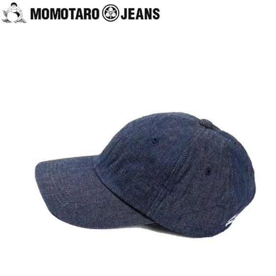 桃太郎ジーンズ デニムベースボールキャップ SJ016★MOMOTARO JEANS(モモタロウジーンズ) MADE IN JAPAN(日本製)