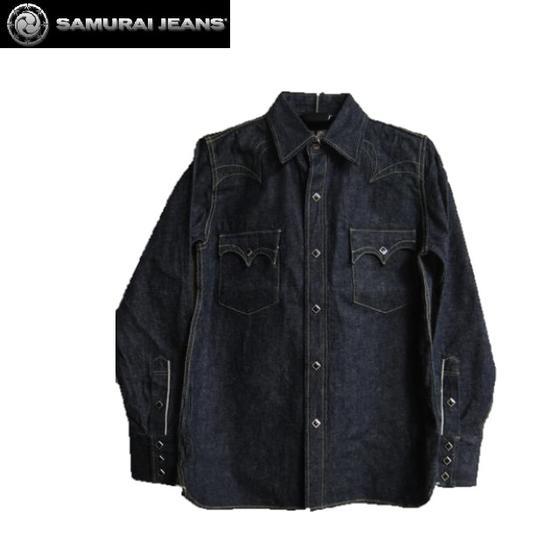 SAMURAI JEANS★カモメデニムウエスタンシャツSWD-L01(サムライジーンズ)サムライ倶楽部