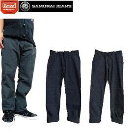 セール SAMURAI JEANSサムライワーククローズワークパンツ(インディゴ、ブラック)SWC500TC18-IB★(サムライジーンズ)サムライ倶楽部MADE IN JAPAN(日本製)