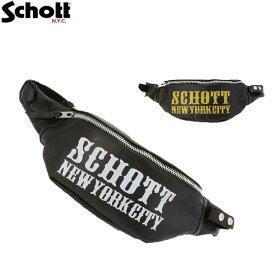 セール SchottレザーボディーバッグMCロゴBODY BAG M/C LOGO 3189034 ショット