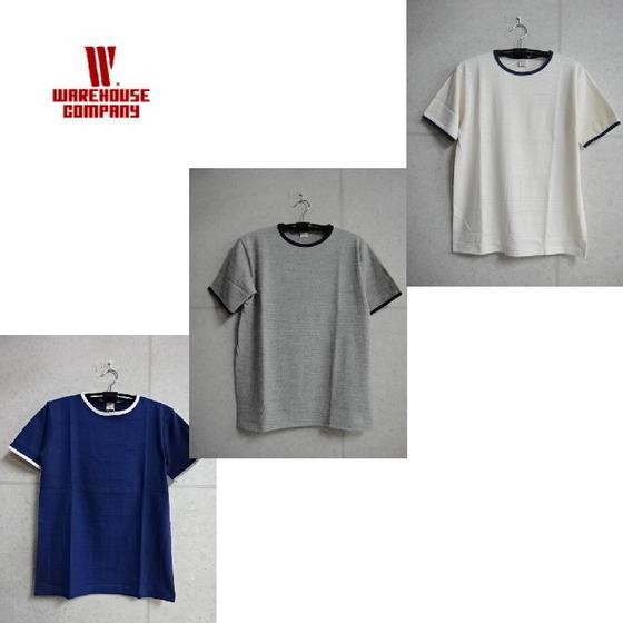 WAREHOUSE Lot 4059(無地)リンガーTシャツ★WHTS-16SS009(ウエアハウス)WARE HOUSE【ウェアハウス】