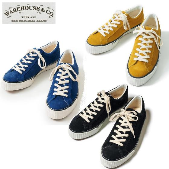 WAREHOUSE Lot.3400ローカットスウェードスニーカーSUEDE SNEAKER(ウエアハウス)WARE HOUSE【ウェアハウス】WHOT-014