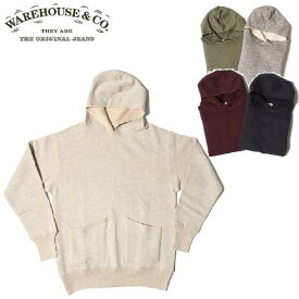 WAREHOUSE Lot.453 DUCK DIGGER セパレートポケットセットインフード SEPARATE POCKET SET IN FOOD WHSW-19AW031(スウェットパーカー)(ウエアハウス)WARE HOUSE【ウェアハウス】