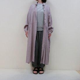 セールyarra★リトアニアリネンシャツ ワンピース YR-91-022(ヤラ)