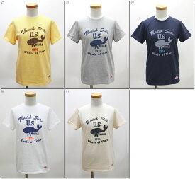 ●LUMBER 【ランバー】 WHALE OF TIME プリントTシャツ 半袖 ユニセックス 男女兼用 191210