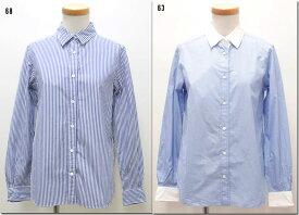 ●MACPHEE 【マカフィー】 W&S ワイヤーシャツ ストライプ クレリック  12-01-61-01808