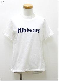 ●MACPHEE 【マカフィー】 フロッキー HIBISCUSロゴTシャツ  12-03-61-03108-TN
