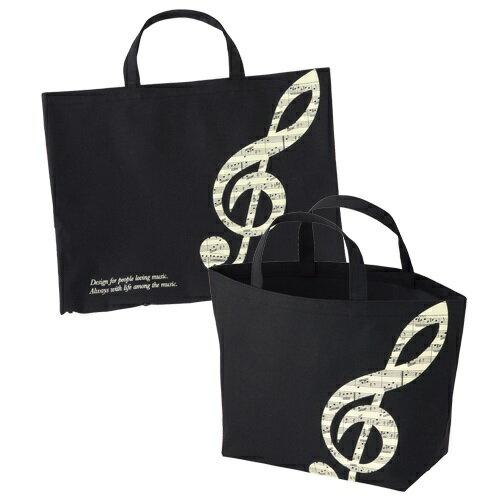 グラーヴェ ボタンで2wayトート ♪お取り寄せ商品です。♪♪ 【ピアノ発表会 記念品 に最適♪】音楽雑貨 ねこ雑貨 バレエ雑貨 ♪記念品に最適 音楽会粗品