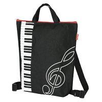 Pianoline2wayリュックバッグ♪お取り寄せ商品です。♪♪【ピアノ発表会記念品に最適♪】音楽雑貨ねこ雑貨バレエ雑貨♪記念品に最適音楽会粗品