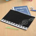 Piano line 連絡帳ケース ♪お取り寄せ商品です。♪♪ 【ピアノ発表会 記念品 に最適♪】音楽雑貨 ねこ雑貨 バレエ…