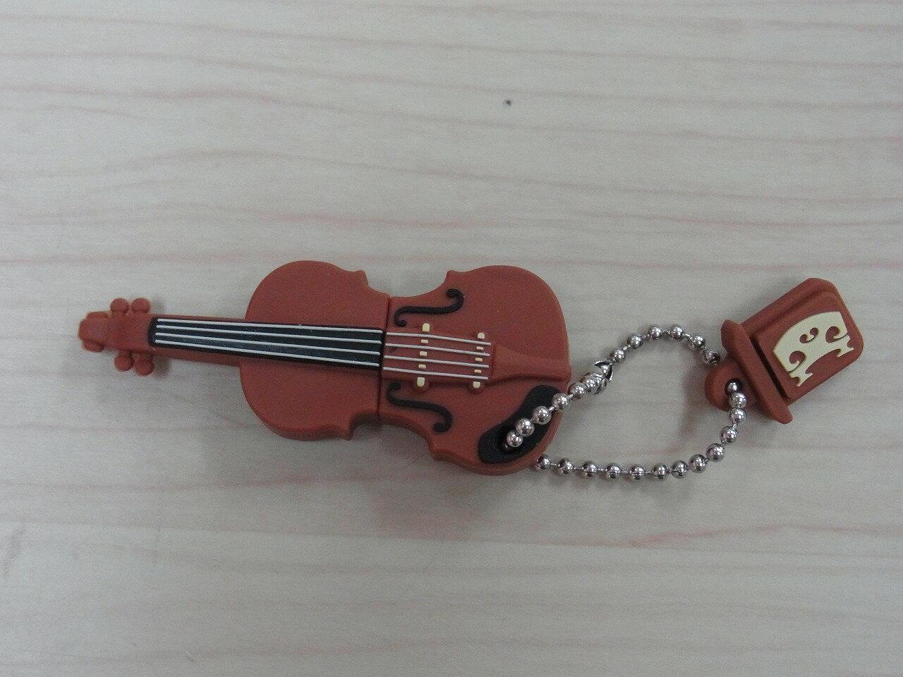 USBメモリ♪バイオリン 2GB♪この商品はお取り寄せ商品です♪♪【楽器-音楽雑貨】《音楽・バレエ・ねこ雑貨のカンタービレ》スタンド ケース付き 音楽雑貨 楽器 発表会 記念品 プレゼント ギフト にも♪グランドピアノ ピアノ 鍵盤楽器