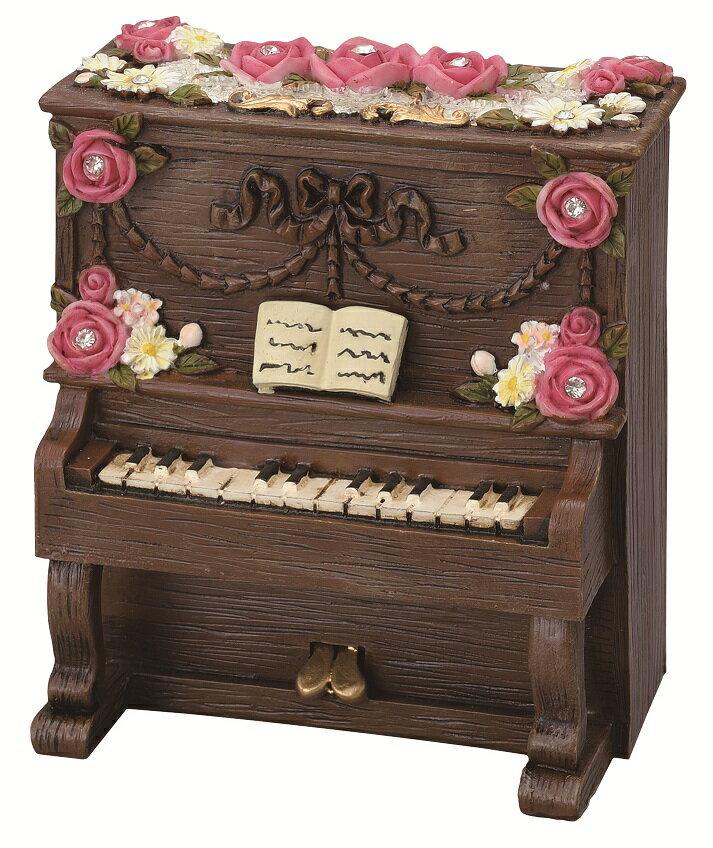 オルゴール アップライト♪♪曲目 ノクターン お取り寄せ商品です♪【ピアノ発表会記念品に最適♪】音楽雑貨 音楽グッズ 吹奏楽部 ブラスバンド 記念品 楽譜柄 ピアノ発表会記念品