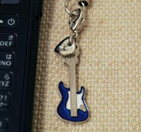 Sギター 携帯ストラップ♪♪お取り寄せ商品です。【弦楽器・携帯ストラップ-音楽雑貨】【楽器-音楽雑貨】《音楽・バレエ・ねこ雑貨のカンタービレ》スタンド ケース付き 音楽雑貨 楽器 発表会 記念品 プレゼント 部活 ストラップ♪