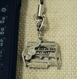 電子オルガン 携帯ストラップ♪♪お取り寄せ商品です。【鍵盤楽器・携帯ストラップ-音楽雑貨】