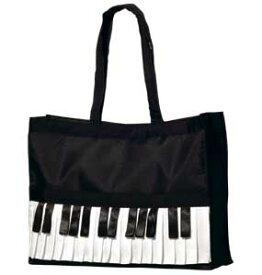 ピアノバッグ L ♪お取り寄せ商品です♪【音楽雑貨 音符・ピアノモチーフ】【バレエ発表会の記念品に最適♪】お取り寄せ 大量注文できます♪音符 ト音記号 楽譜