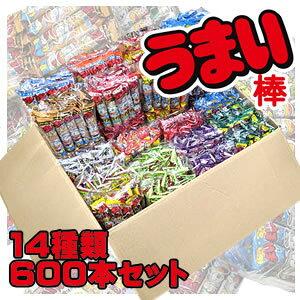 うまい棒 詰め合わせ14種類 600本セット