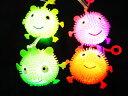 光るハリネズミヨーヨーS 単価42円×24入【光るおもちゃ 景品 イベント 子供会 お祭り 縁日 玩具 夏祭り 光り物】