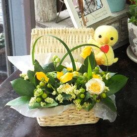 ナチュラル フラワーアレンジ グリーンフィールド 誕生日 出産祝い 卒園祝い 入園祝い 子供の誕生日
