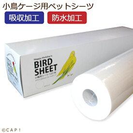 【ハッピーホリディ】小鳥用シーツ 120枚 ホワイト