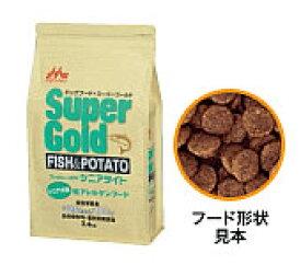 【あす楽対応】森乳 スーパーゴールド フィッシュ&ポテト(シニアライト)シニア犬用低アレルゲンフード 2.4kg