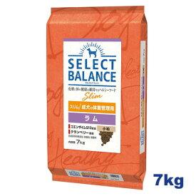 【おまけ付き♪】セレクトバランス スリム ラム 小粒 7kg 成犬の体重管理用 【送料無料】【Select Balance セレクト・バランス (肥満犬)】【あす楽】