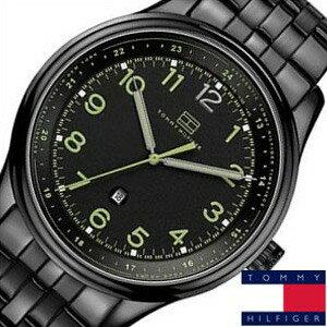 トミーヒルフィガー腕時計[TommyHilfiger時計](Tommy Hilfiger 腕時計 トミーヒルフィガー 時計)メタルベルト ブラック 1710307[TOMMY ギフト プレゼント ご褒美][おしゃれ 腕時計]