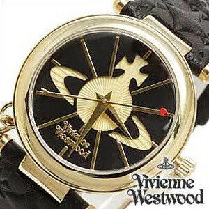 ヴィヴィアンウェストウッド腕時計 [VivienneWestwood時計](Vivienne Westwood 腕時計 ヴィヴィアン ウェストウッド 時計) (TIME MACHINE) レディース時計 ブラック VV006BKGD[ギフト プレゼント ご褒美][おしゃれ 防水 ]
